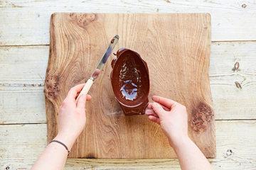 КАК СДЕЛАТЬ шоколадное ЯЙЦО на Пасху 5