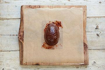 КАК СДЕЛАТЬ шоколадное ЯЙЦО на Пасху 6