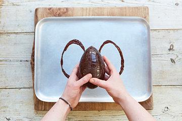 КАК СДЕЛАТЬ шоколадное ЯЙЦО на Пасху 8