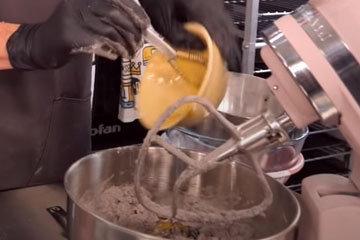 Как испечь шоколадное печенье 7