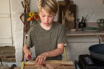 Как приготовить фахитас с курицей 2