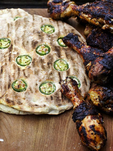Куриные бедра рецепт на гриле