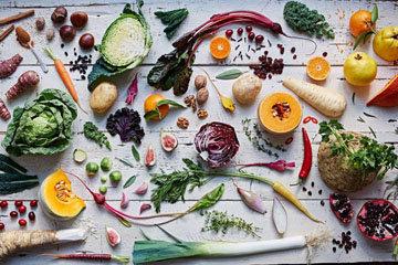 Старайтесь есть много разных фруктов и овощей каждый день
