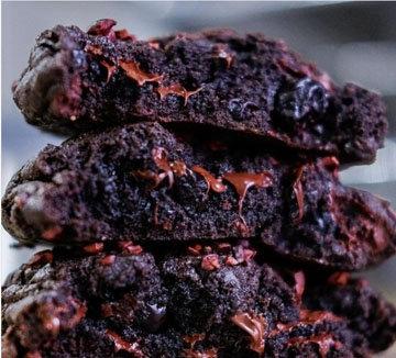 Шоколадное печенье простой рецепт