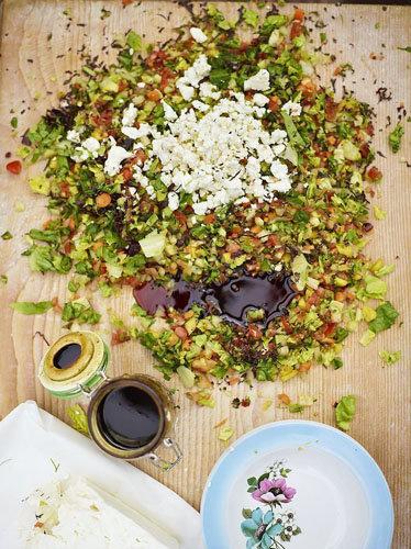 рубленный салат