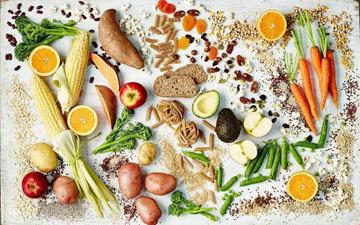 5 групп продуктов,которые составляют сбалансированную диету