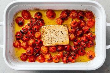 Рецепт пасты можно приготовить с сыром фета