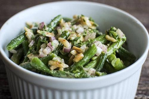 Рецепт салата с фасолью