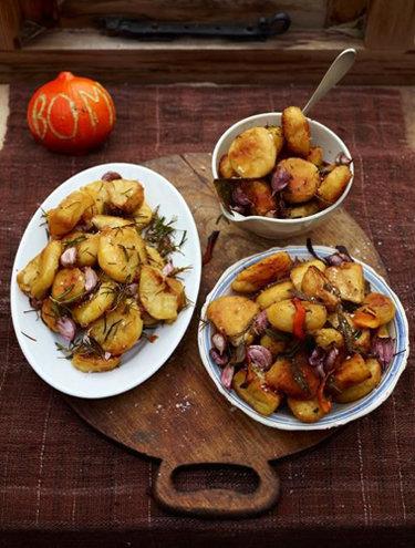 Жареный картофель три способа