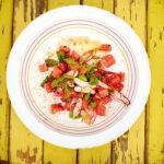 Салат арбуз + редис