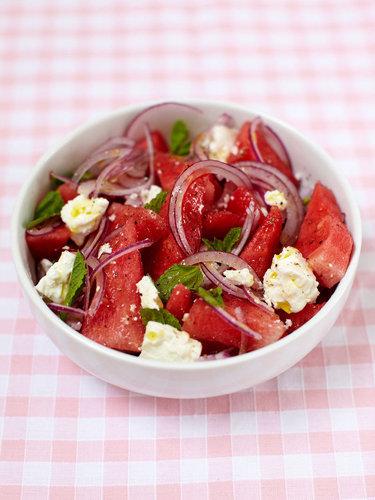 Салат арбуз + фета